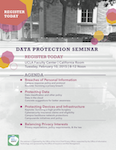 Data protection seminar flyer